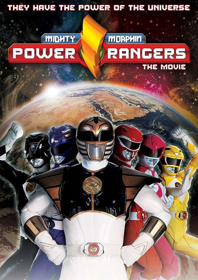 Mighty Morphin' Power Rangers Key Art Exploration