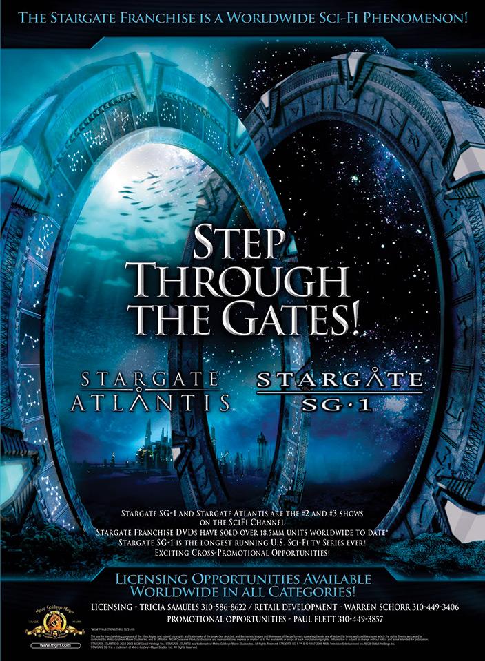 Stargate SG-1 / Stargate Atlantis Trade Ad