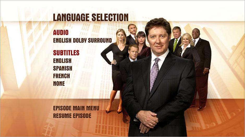 Boston Legal –DVD
