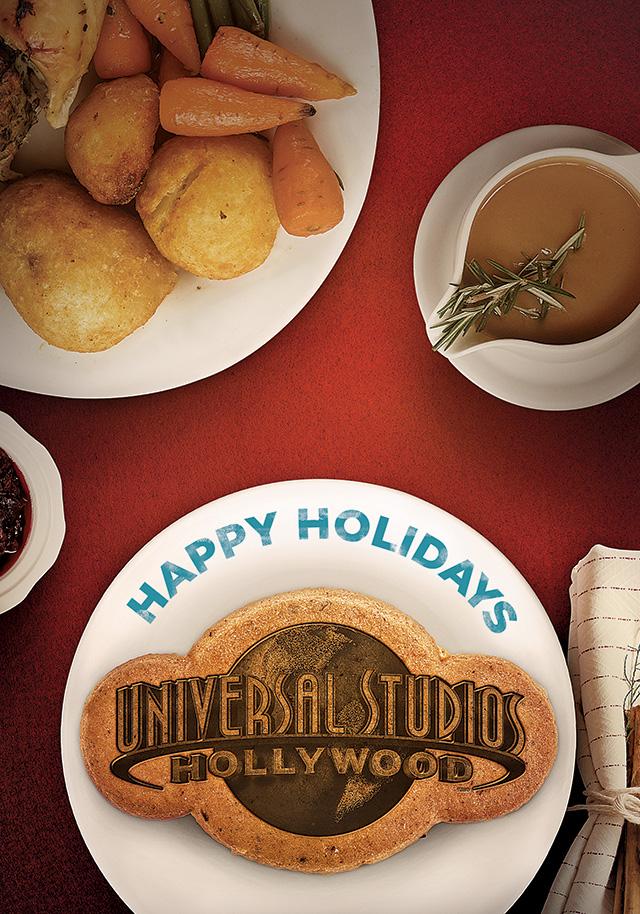 Universal Studios Hollywood Holiday Card