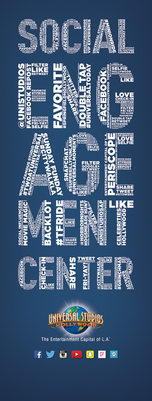 Social Engagement Center Wordcloud